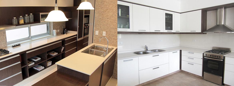 le ofrecemos una amplia variedad de modelos de muebles de cocina